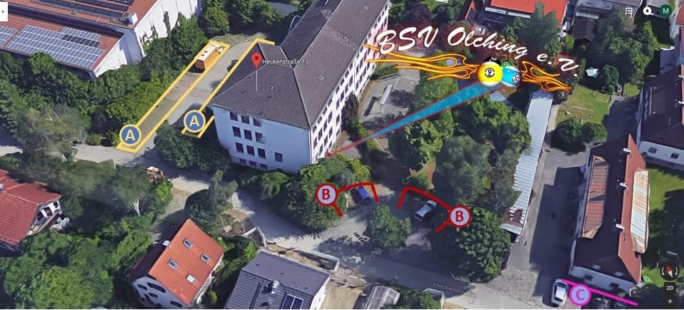 BSV-Olching Parkmöglichkeiten